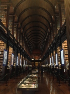 The Long Room at Trinity College The library room upon which the Jedi Library in Star Wars Episode 2 was based