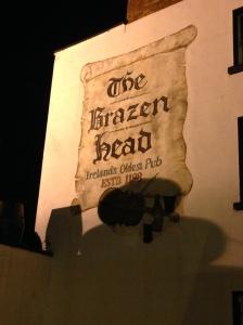 The Brazen Head Ireland's oldest pub...supposedly