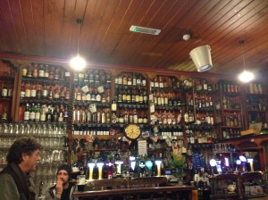 The 200+ whiskies available at Mack Dick's in Dingle, Ireland