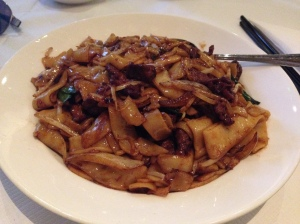 Beef Chow Fun, Good World Chinese Restaurant Dublin, Ireland