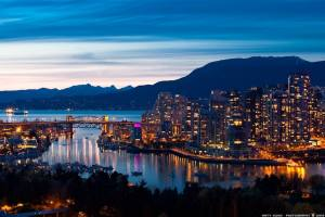 Vancouver at Dusk Picture source:  http://davidchenhomes.com/vancouver-ranked-most-liveable-city-in-north-america-for-2015/#