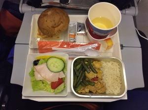 Aeroflot's less than stellar food