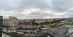 O2 Bar, 12th Floor Ritz Carlton Hotel Moscow, Russia