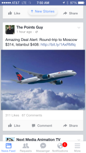 January 2015 - Flight deal of a lifetime