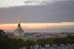 The view from the W St. Petersburg St. Petersburg, Russia