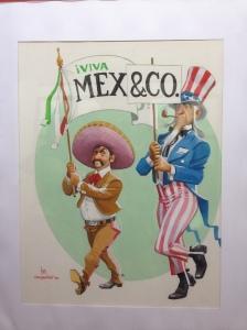 Satirical art at the Museo de la Caricatura