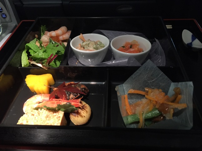 Japanese style meal on AA