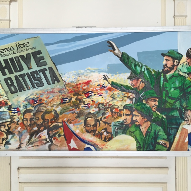 Just a sample of the art on display at the Museo de la Revolución