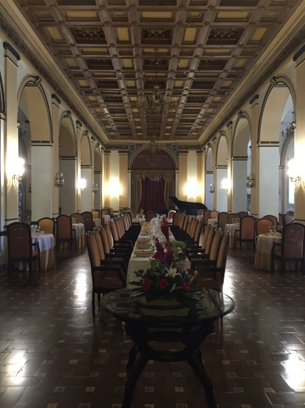 The Restaurant at the Hotel Nacional