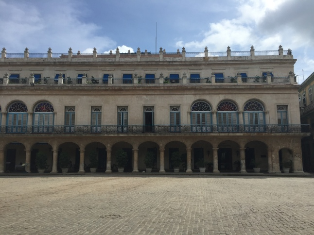 The Plaza de Armas, before the arrival of tourists