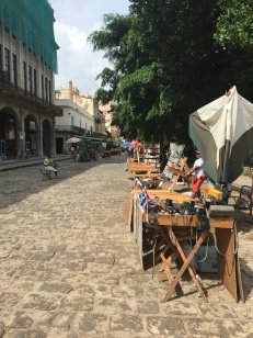 The vendors on the Plaza de Armas