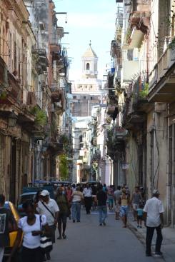 Busy Havana Streets