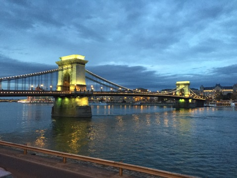 The Chain Bridge at Night