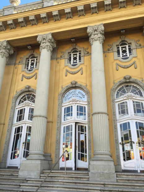 Entrance to Széchenyi Baths