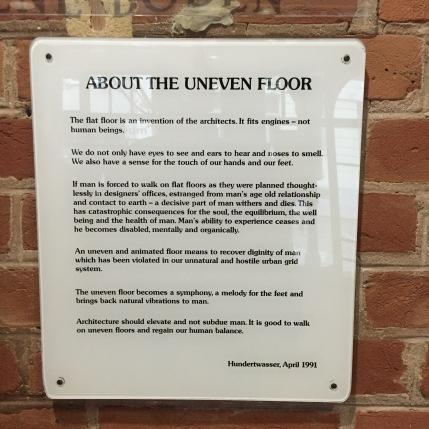 Hundertwasser's philosophy