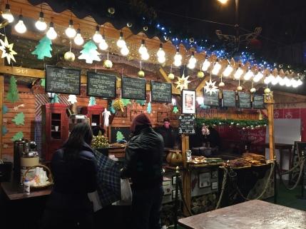Dinner in the Christmas Market