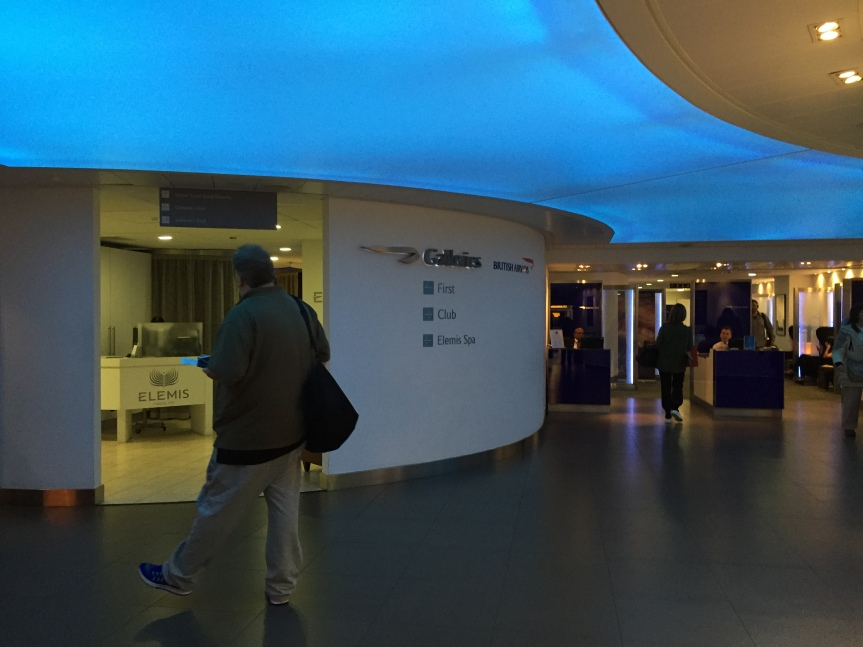 British Airways Galleries Lounge
