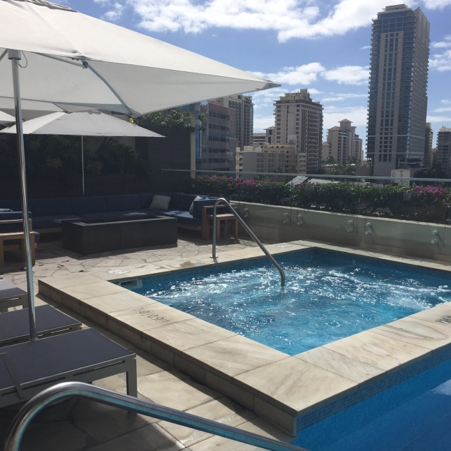 Ritz Carlton Residences Hot Tub