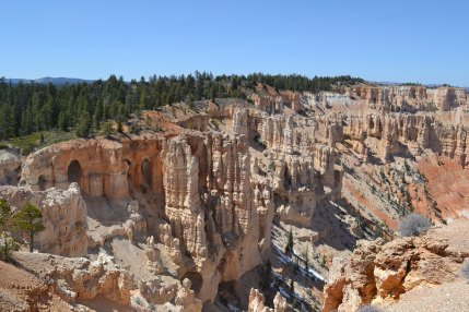 Looking down from Bryce Point makes you feel like you're in an ancient kingdom from Lord of the Rings or Game of Thrones