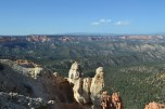 The expansive view at Rainbow Point