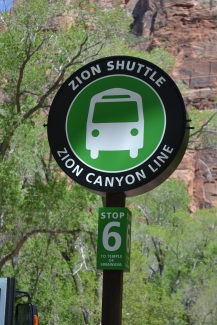 The Zion Canyon Line - stop 6