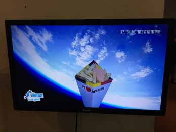 Fries were launched into space on a balloon (seriously)