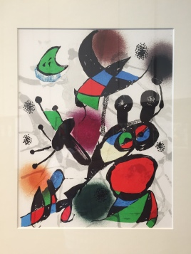 A piece by Joan Miro