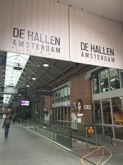 De Hallen - Entrance