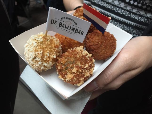 Bitterballen, a Dutch appetizer