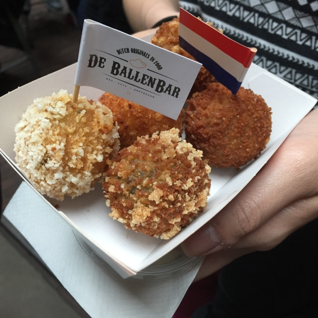 Bitterballen, a Dutch appetizer
