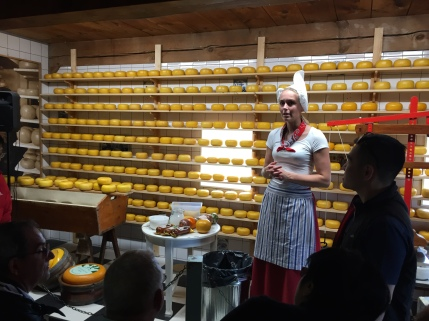 Cheese making demonstration