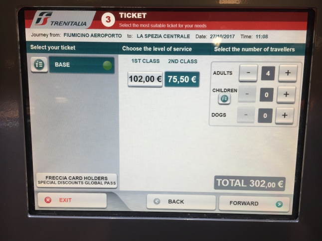 Purchasing your train tickets at the airport is a breeze