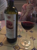 Red wine - a must have for any Italian dinner