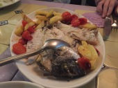 Pesce al forno (fresh fish!)
