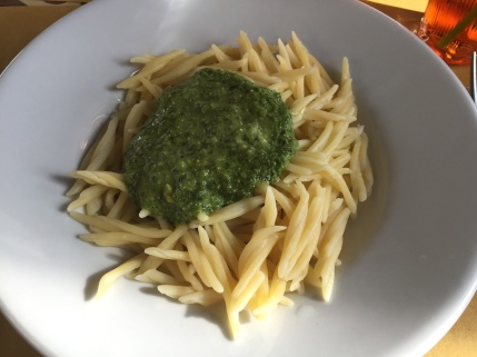 More delicious pesto at Bar Gio