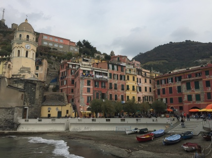Waterside in Vernazza