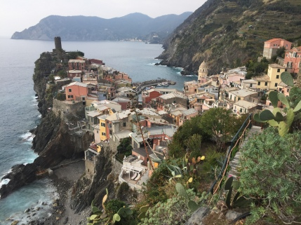 The views above Vernazza