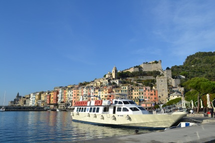 Stopping in Portovenere