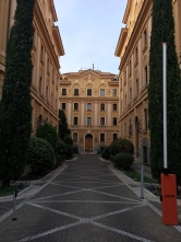 """Incredible looking buildings in Parioli have earned the neighborhood the title of """"Rome's most elegant residential section"""" according to Frommer's"""