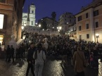 The Spanish Steps, which are likely to be as crowded as this when you visit