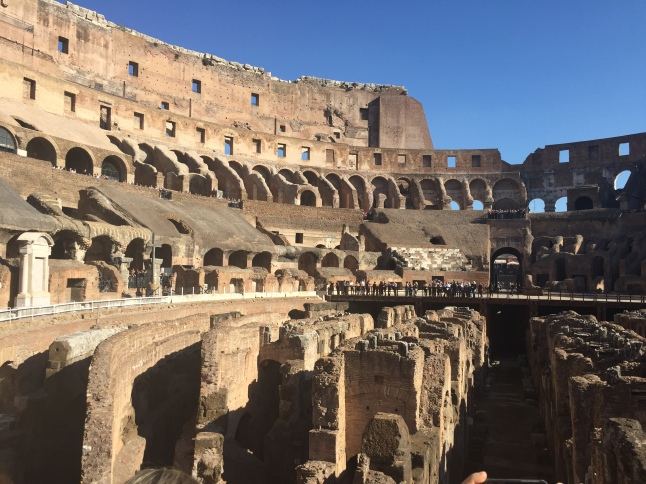 The beauty of the Colosseum