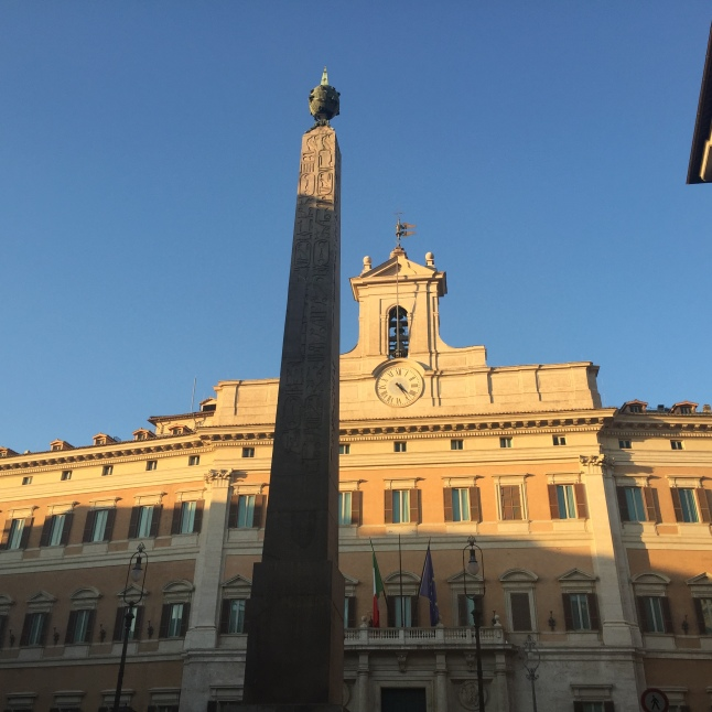 The Obelisk of Montecitorio