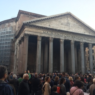 The Pantheon from the exterior