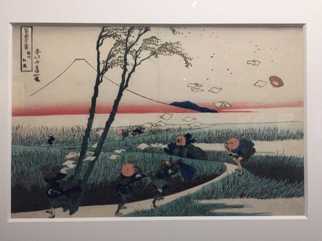Hokusai's work