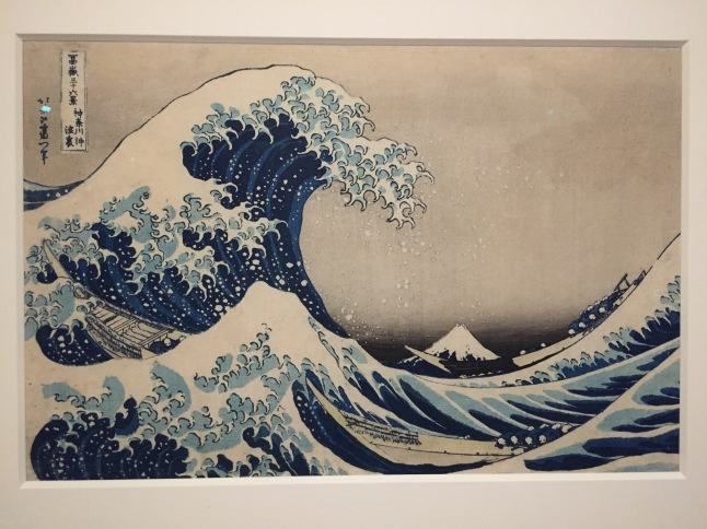 "Hokusai's famed ""The Wave"""