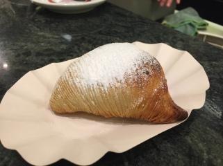 Sfogliatelle at Tazza D'Oro