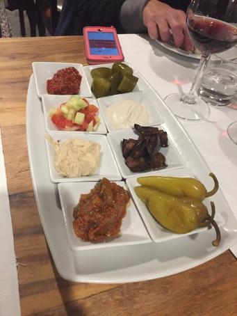 Israeli selection of dips