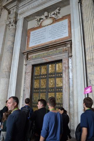 The Doors of St. Peter's Basilica