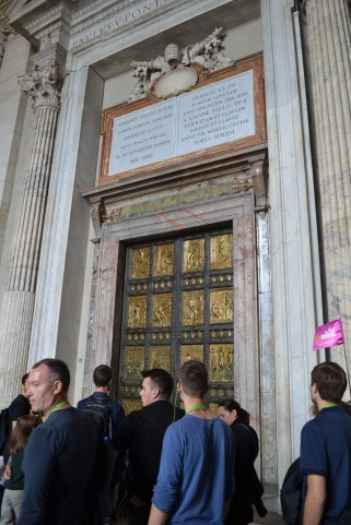 The Doors of St. Peter's Basilica