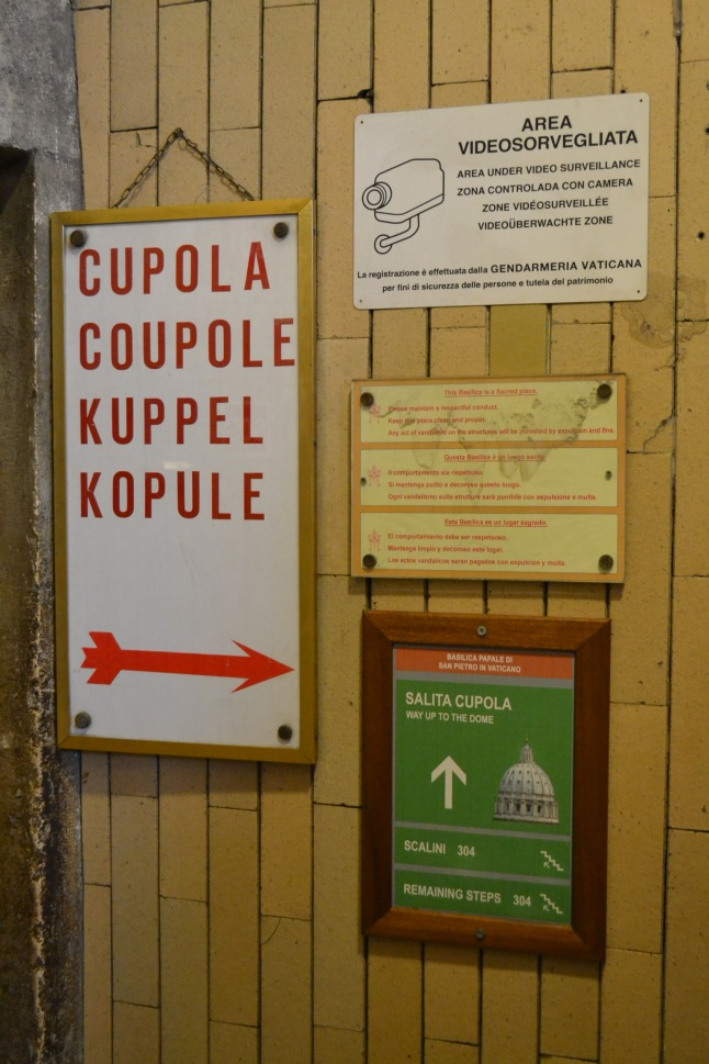 This way to the Cupola